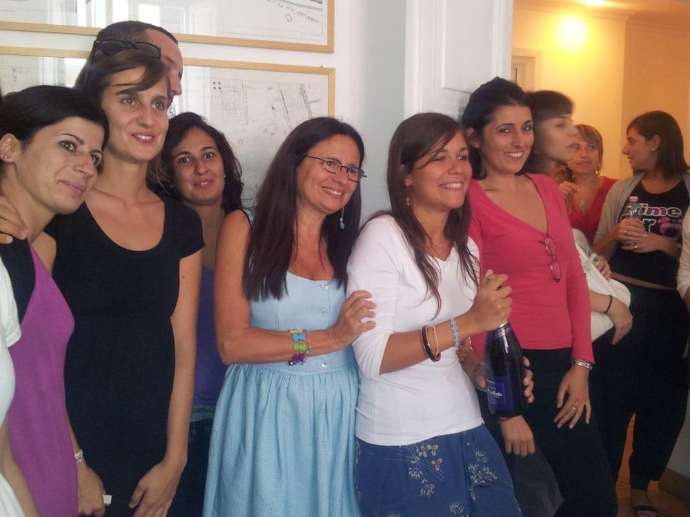 I nostri allievi durante alcuni momenti di festa Istituto Beck09