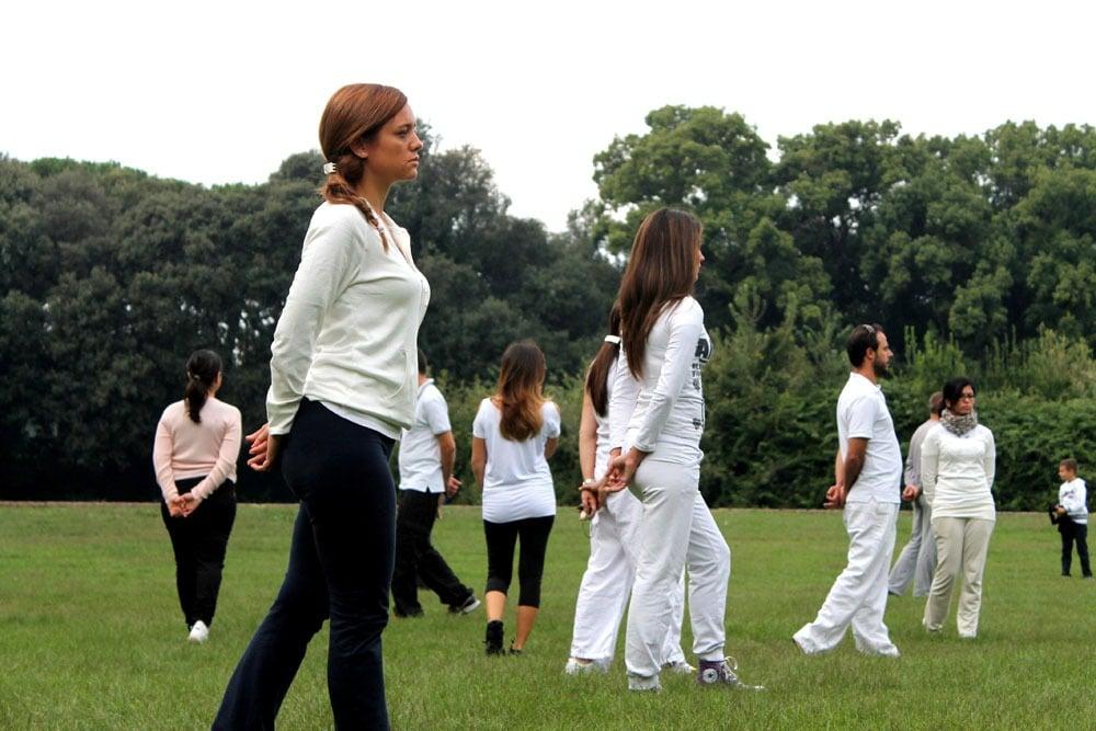 Walking meditation alla Reggia di Caserta – istituto Beck03