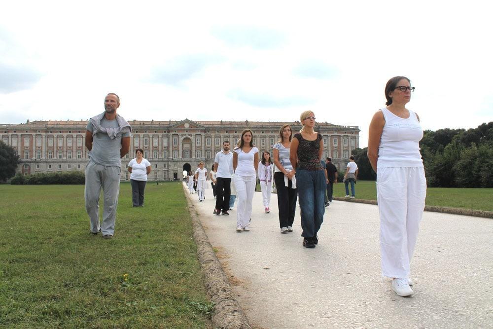 Walking meditation alla Reggia di Caserta – istituto Beck05