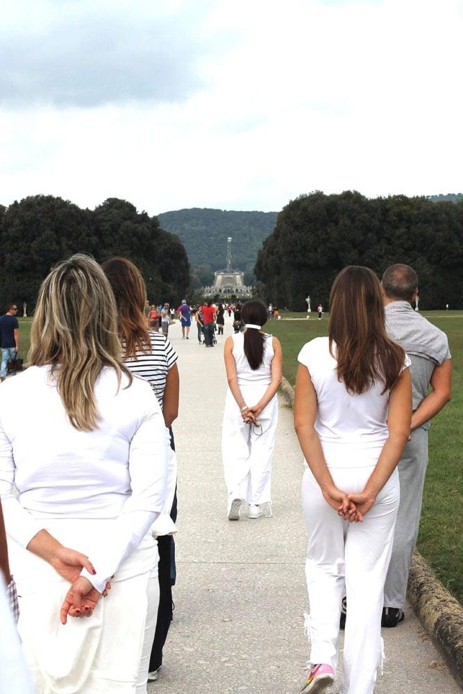 Walking meditation alla Reggia di Caserta – istituto Beck06