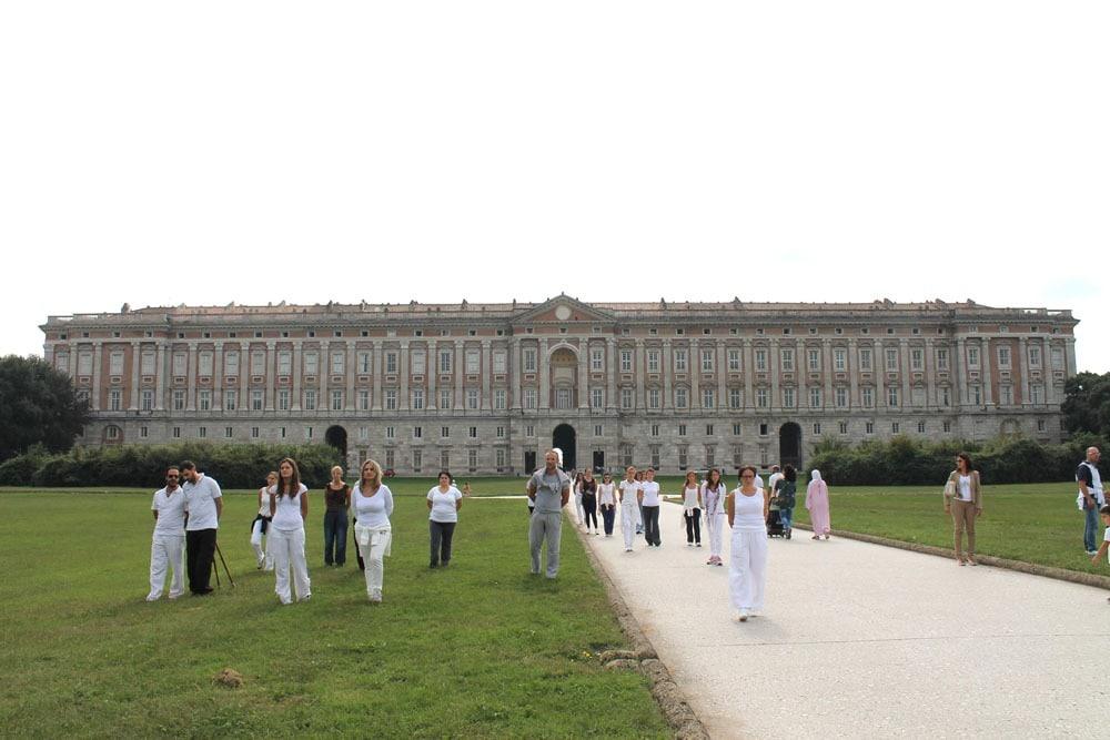 Walking meditation alla Reggia di Caserta – istituto Beck14