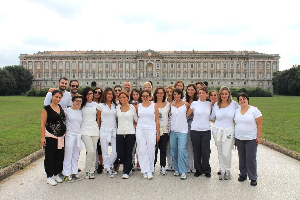 Walking meditation alla Reggia di Caserta – istituto Beck16