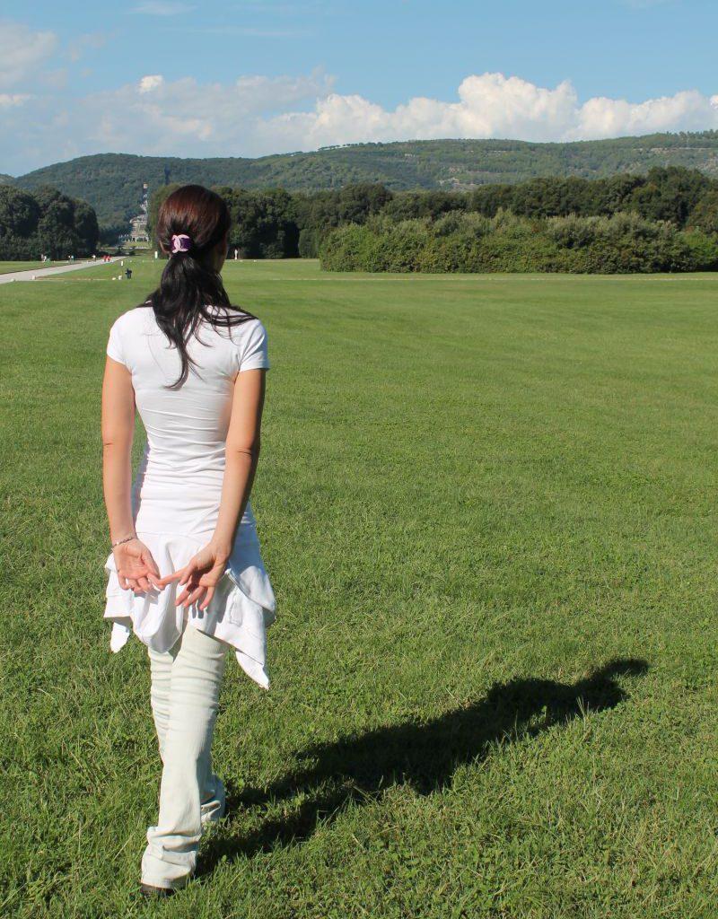 Walking meditation alla Reggia di Caserta – istituto Beck22