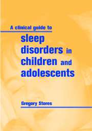 A Clinical Guide To Sleep Disorders In Children And Adolescent