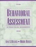 Behavioral Assessment, A Practical Handbook