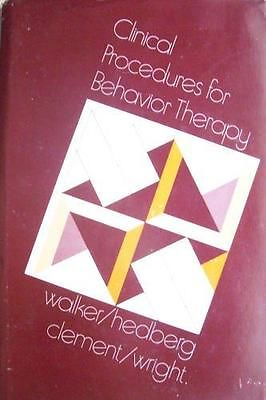 Clinical Procedures For Behavior Therapy