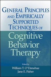 Cognitive Behavior Therapy: General Principle And Empirically Supported Techniques