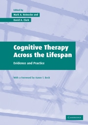 Cognitive Therapy Across The Lifespan, Evidence And Practice