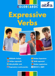 Expressive Verbs – Color Cards