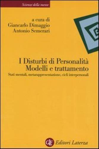 I Disturbi Di Personalità – Modelli E Trattamento
