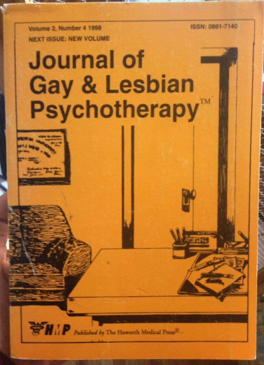 Journal Of Gay And Lesbian Psychotherapy