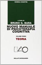 Nuovo Manuale Di Psicoterapia Cognitiva Volume Primo Teoria