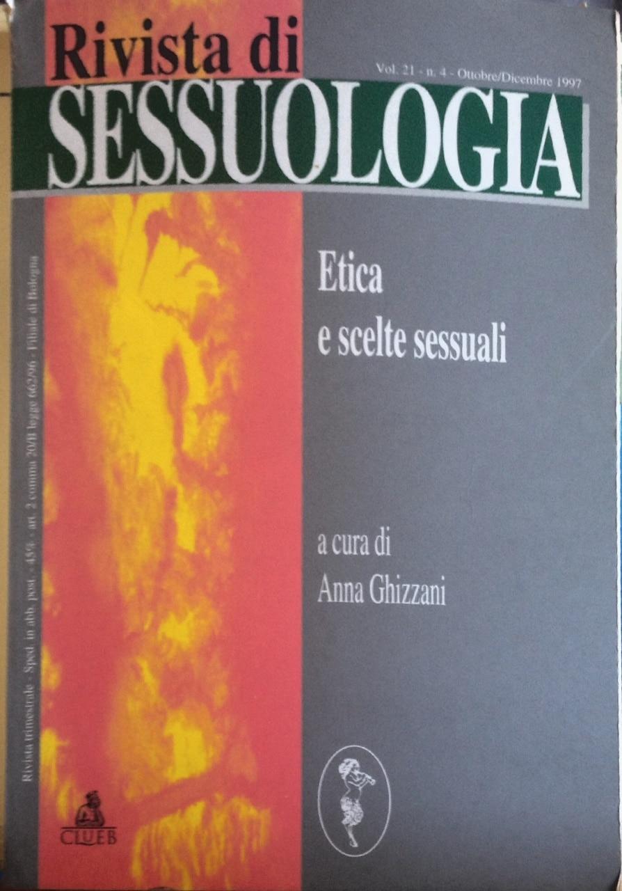 Rivista Di Sessuologia – Etica E Scelte Sessuali