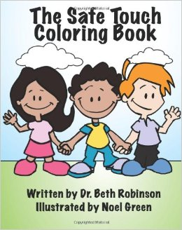 The Safe Touch Coloring Book