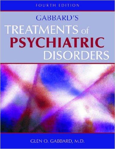 Treatments Of Psychiatric Disorders