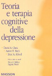 Teoria E Terapie Cognitive Della Depressione