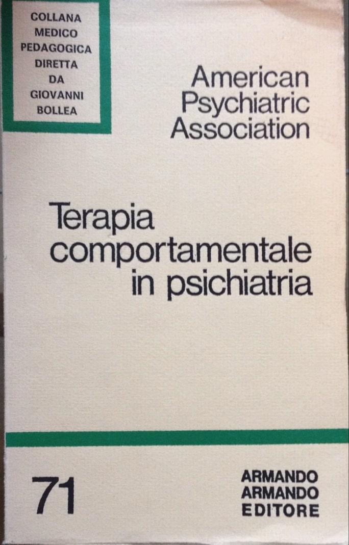 Terapia Comportamentale In Psichiatria