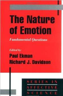 The Nature Of Emotion Fundamental Questions