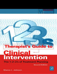 Therapist's Guide To Clinical Intervention- The 1-2-3's Of Treatment Planning