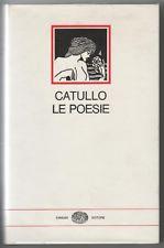 Catullo. Le Poesie