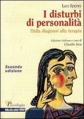 I Disturbi Di Personalità  Dalla Diagnosi Alla Terapia