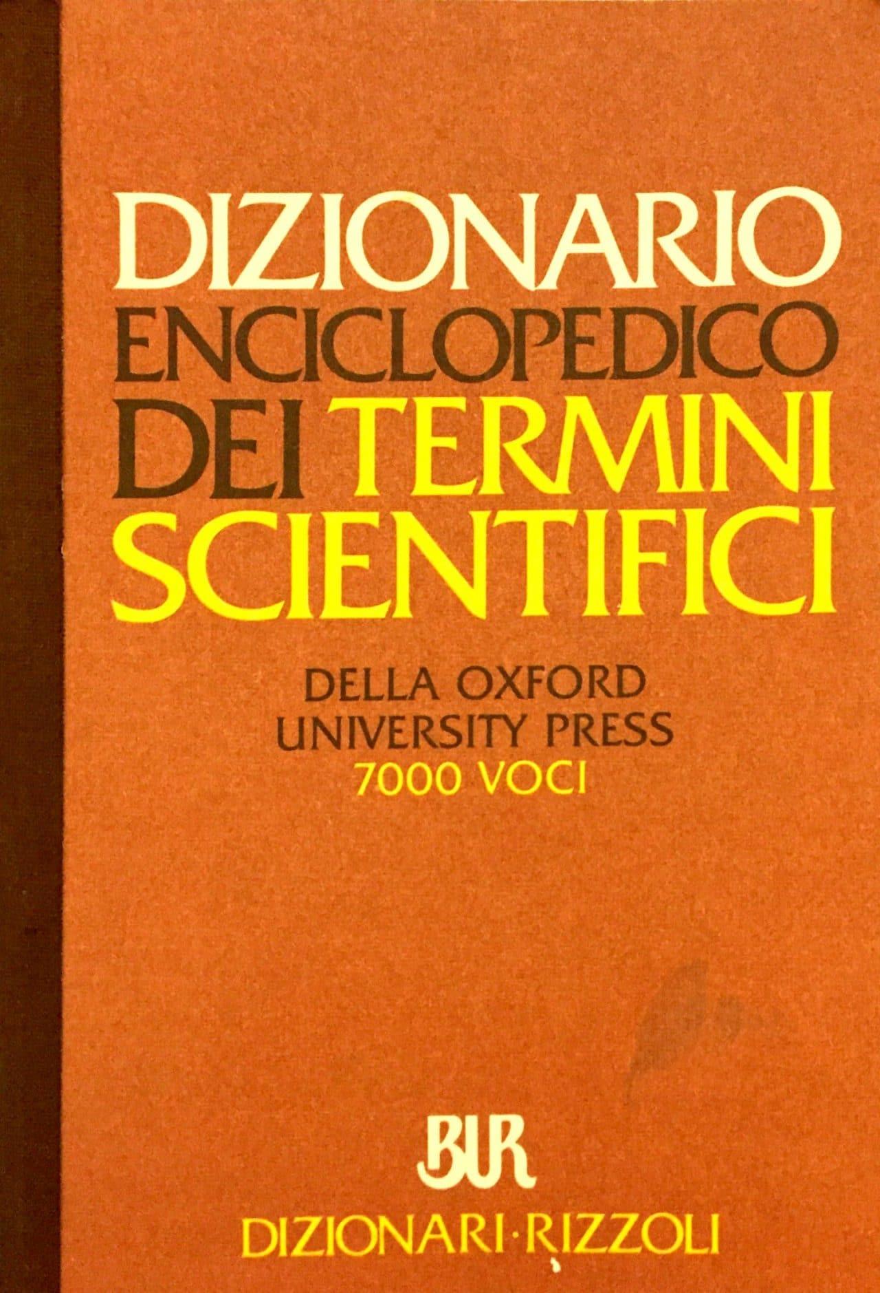 Dizionario Enciclopedico Dei Termini Scientifici