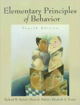 Elementary Principles Of Behavior