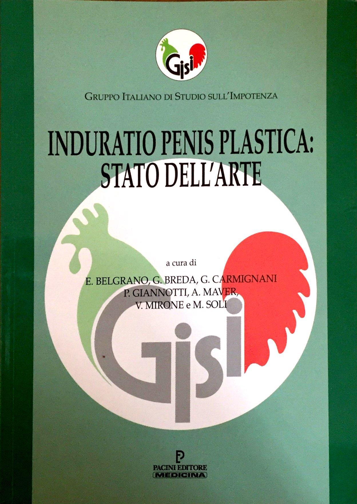 Induratio Penis Plastica: Stato Dell'Arte