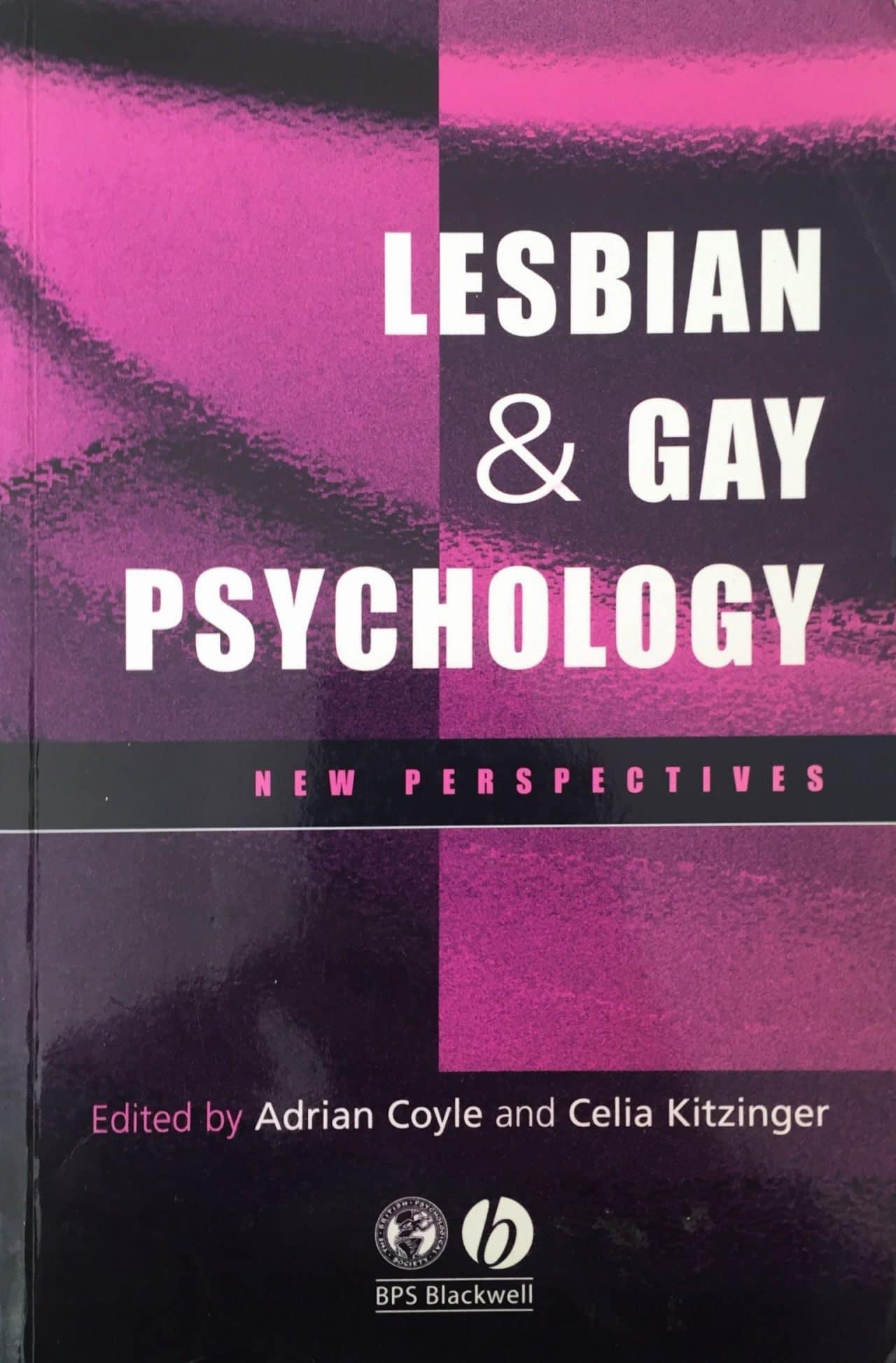 LESBIAN AND GAY PSYCHOLOGY