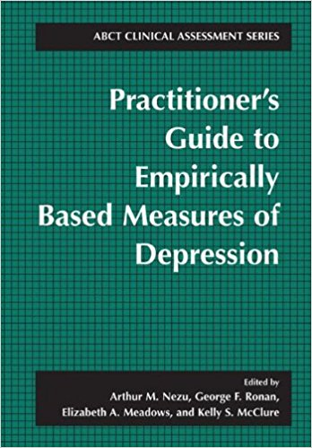 Practitioner's Guide To Empirically Based Measures Of Depression