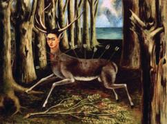 """F. Kahlo, """"Il cervo ferito"""" (1946) per cause della depressione"""