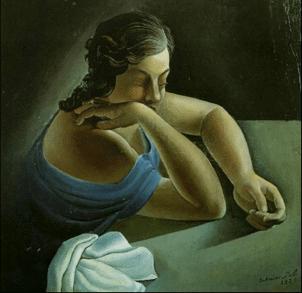 """S. Dalì,""""Pensieri"""" (1925) per Sintomi della depressione"""