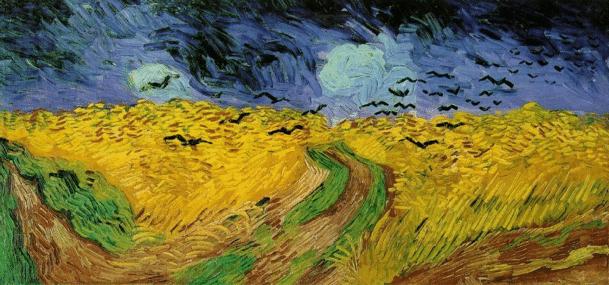 """V. van Gogh, """"Campo di grano con volo di corvi"""" (1890) per Meccanismi di mantenimento della depressione"""