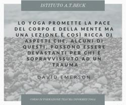 Corso Di Trauma Informed Yoga