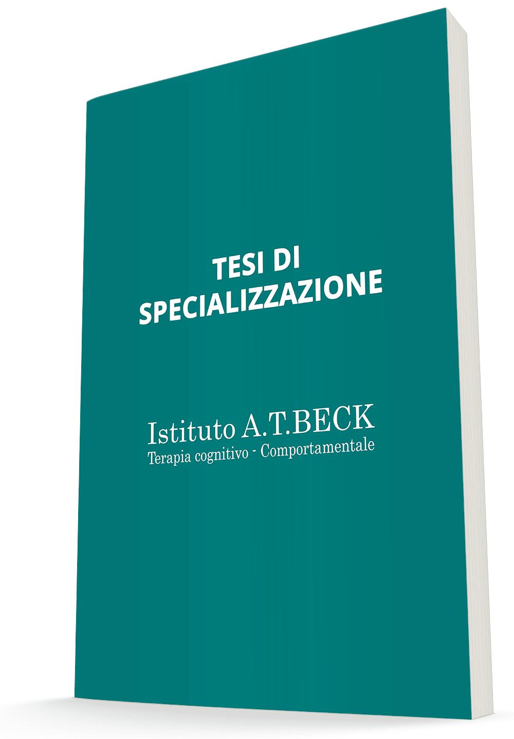 Tesi di specializzazione dell'Istituto Beck